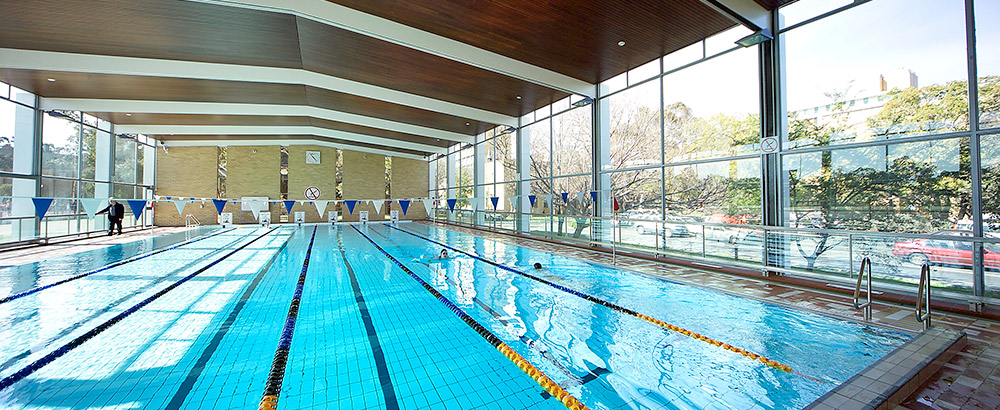 Beaurepaire centre lovell chen for Melbourne university swimming pool