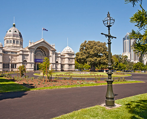 Royal Exhibition Building Western Forecourt