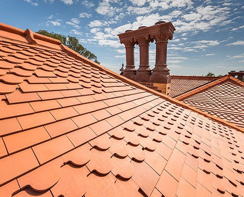 Rippon Lea roof reinstatement