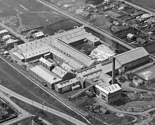 AMCOR Fairfield paper mill