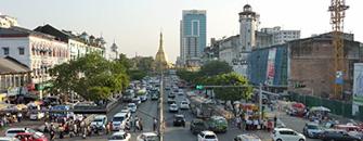 Sule Pagoda Road, Yangon