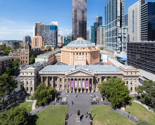 how to get to state library of victoria