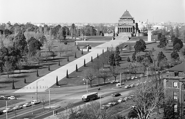 Shrine of Remembrance, Mellbourne