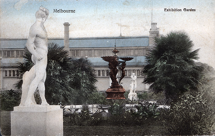 postcard courtesy State Library of Victoria