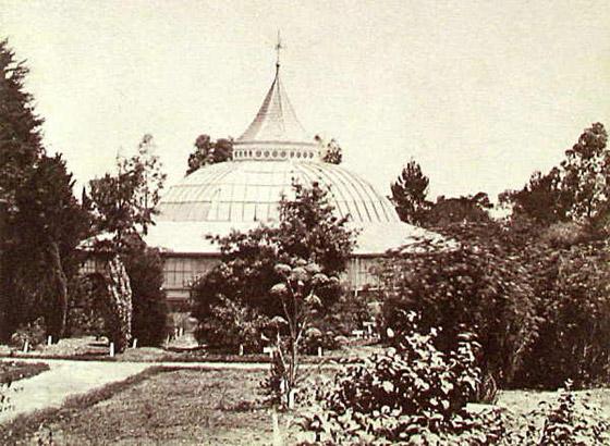 System Garden conservatory