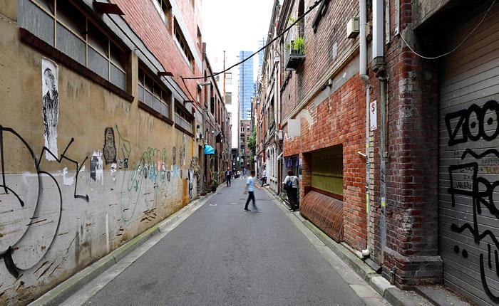 Central City Laneways Precinct