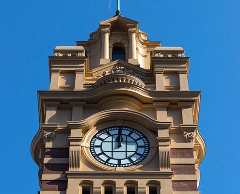Flinders Street Station clocktower