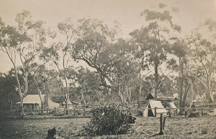 Ann Jones' Inn, Glenrowan, 1880