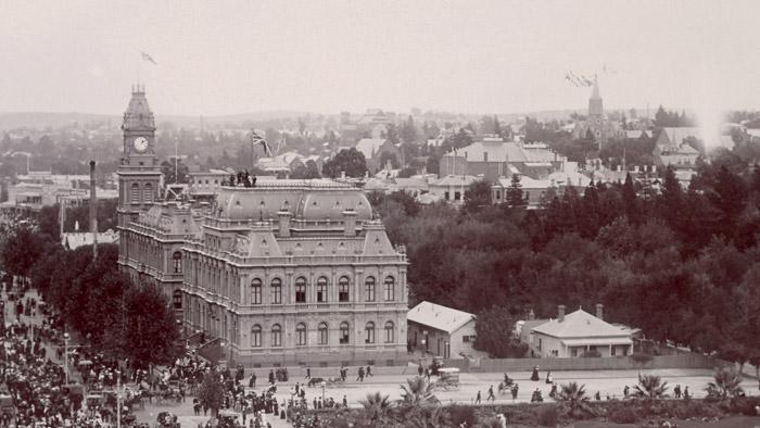 Bendigo Law Courts 1905