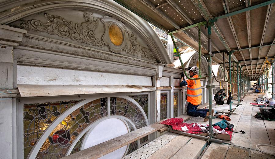 Princess Theatre exterior conservation