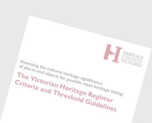 Heritage Council Victoria