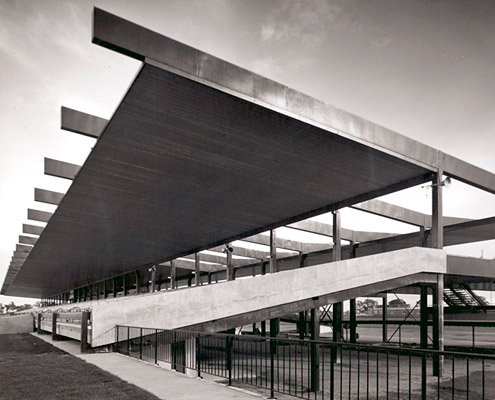 Grandstand, Sandown Racecourse