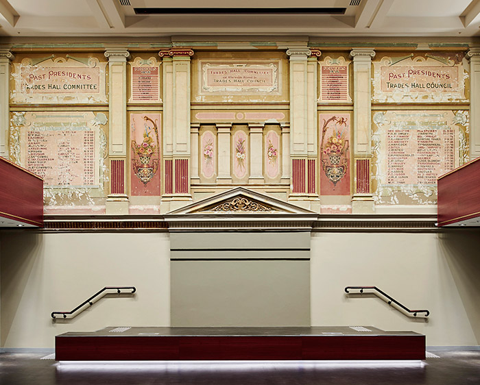 New Council Chamber, Trades Hall