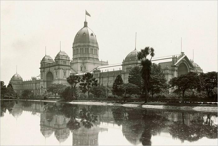 Royal Exhibition Building in 1926