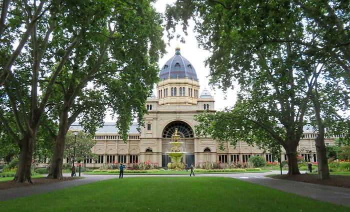 Royal Exhibition Building in 2018