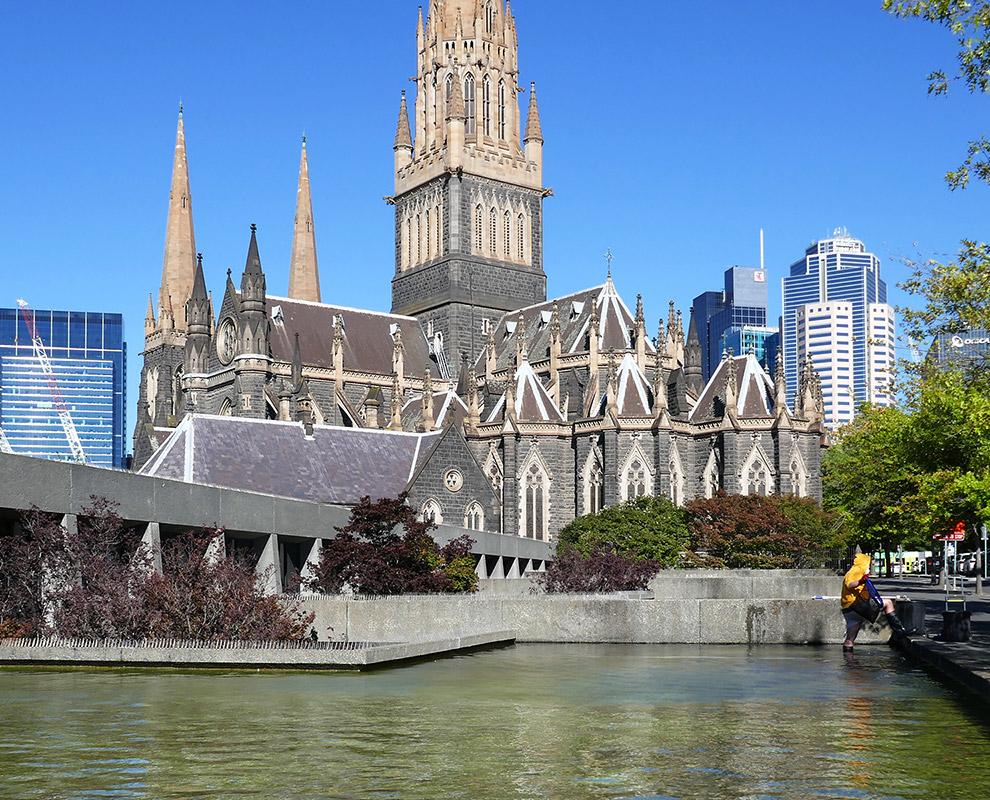 St Patrick's Cathedral Precinct